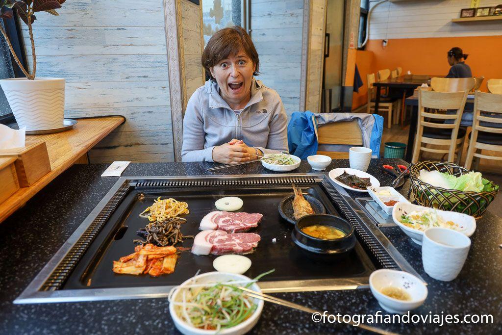 barbacoa coreana consejos para viajar a corea del sur