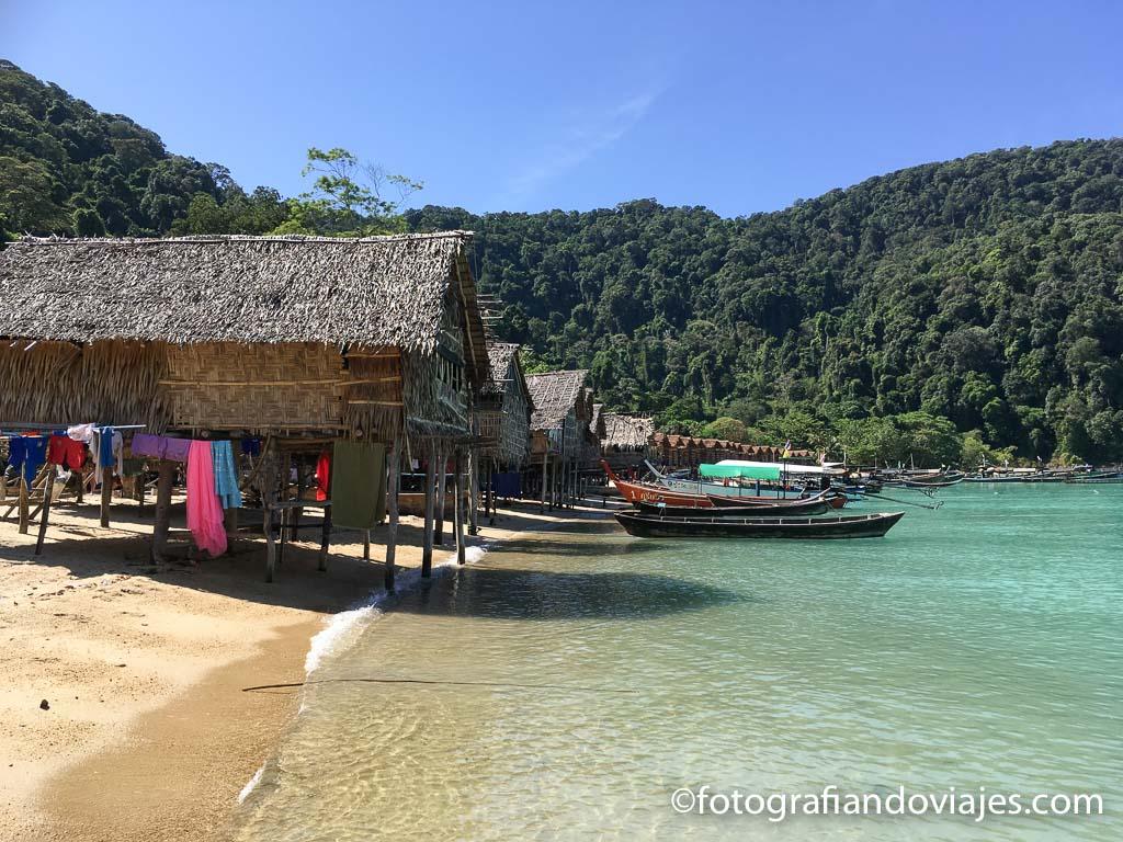 aldea Moken tailandia