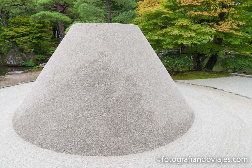 Ginkakuji o pabellón de plata en Kioto