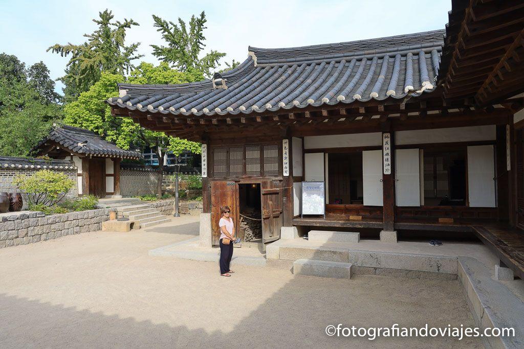Namsangol hanok village Seul