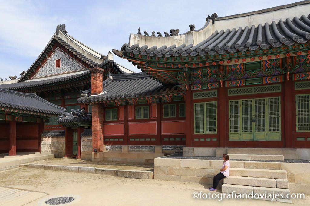 Palacio real Changdeokgung en Seul