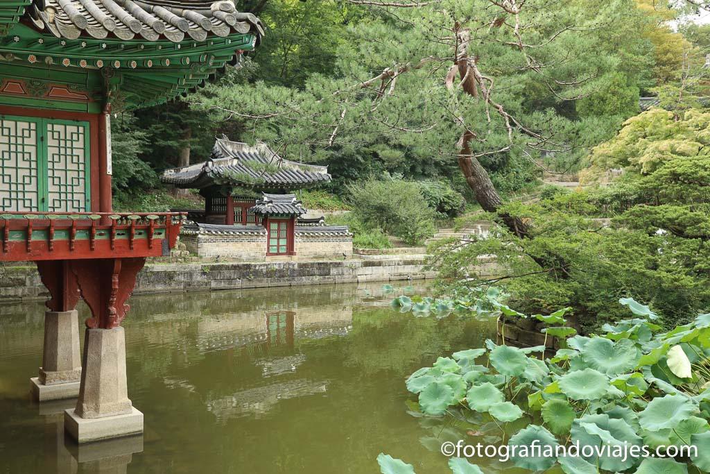 Jardín secreto de Changdeokgung en Seul