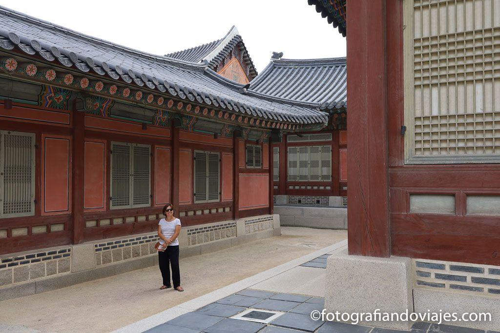 Palacio Gyeongbokgung en Seul