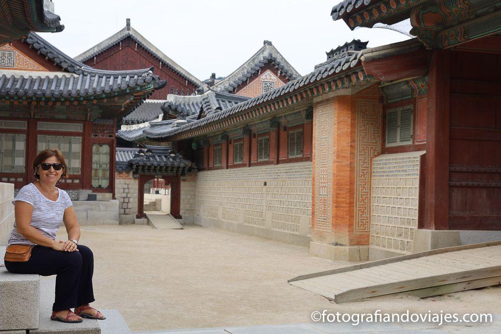 Palacio real Gyeongbokgung en Seul