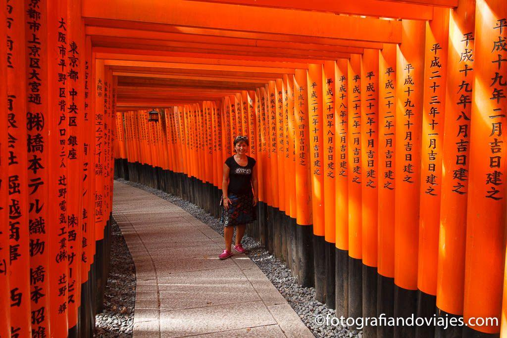 Santuario de Fushimi Inari en Kioto