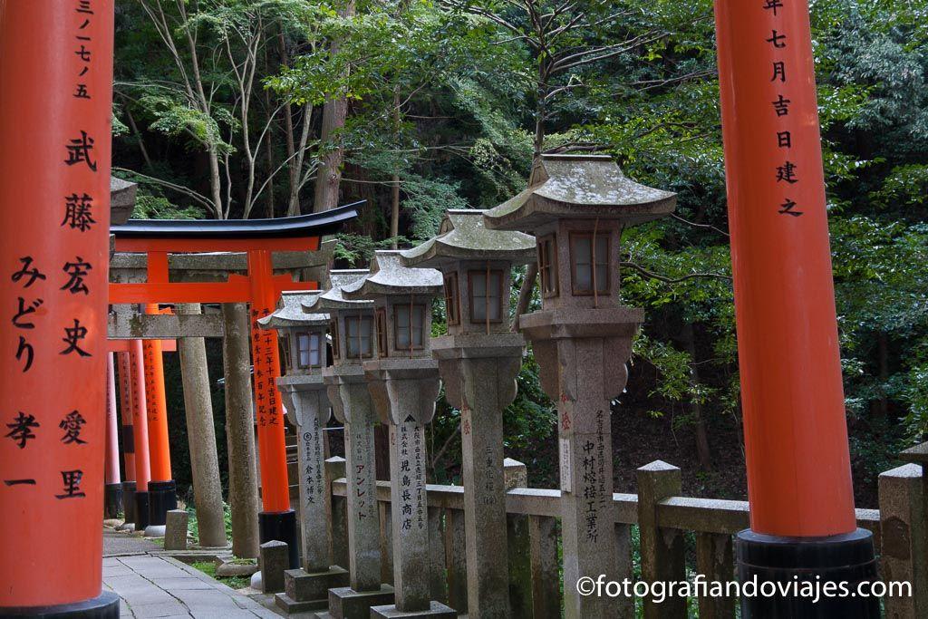 lamparas japonesas de piedra