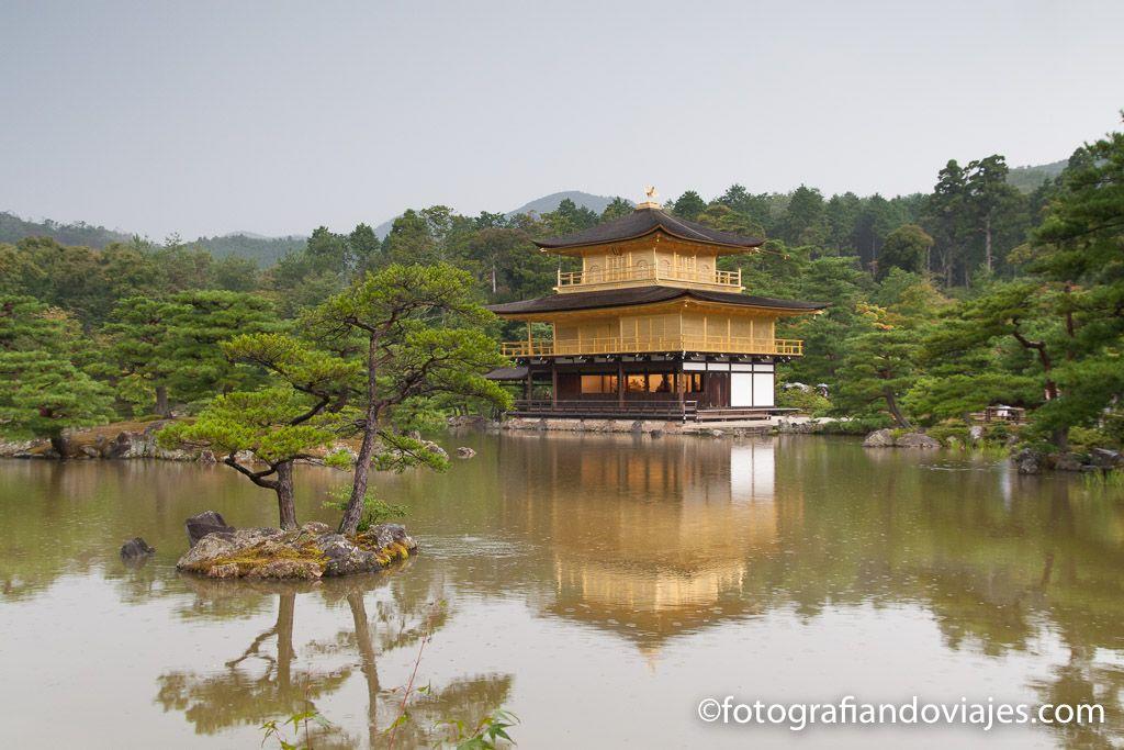 Templo Kinkakuji o Pabellón dorado en Kioto