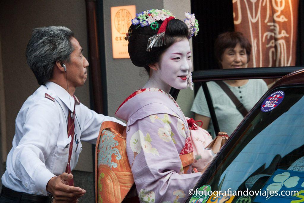 Zona de Gion en kioto