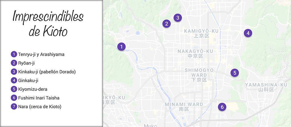 que es imprescindible ver en Kioto