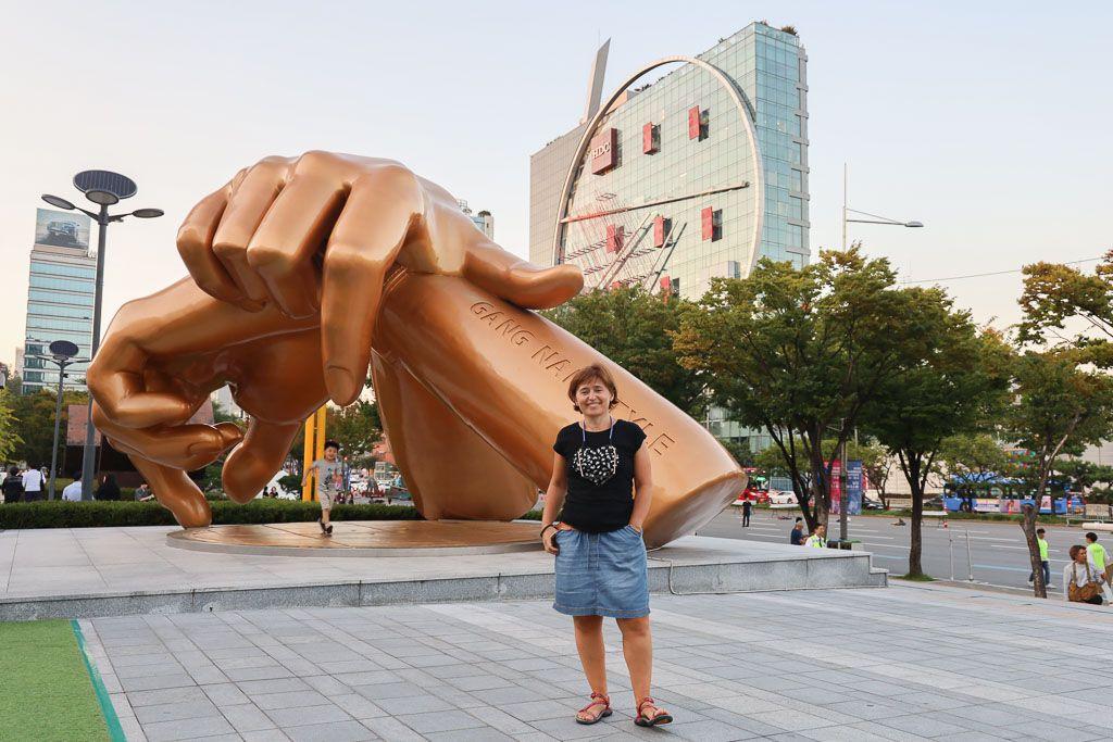 Barrio de Gangnam en Seul que hacer