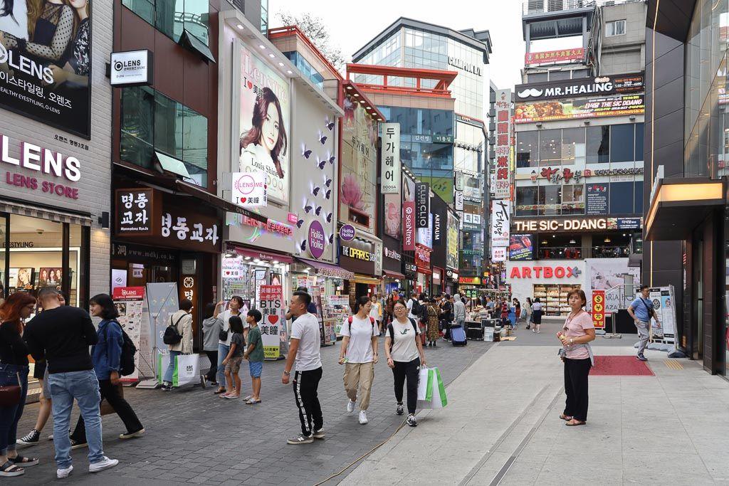 Calle Myeongdong