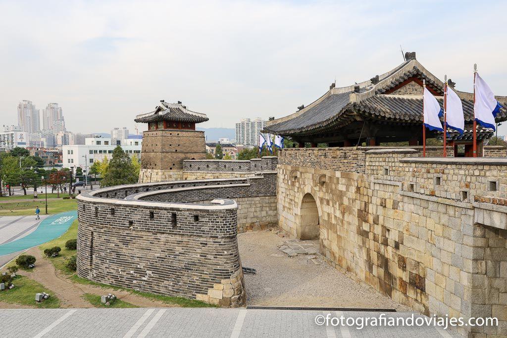 Fortaleza Hwseong de Suwon