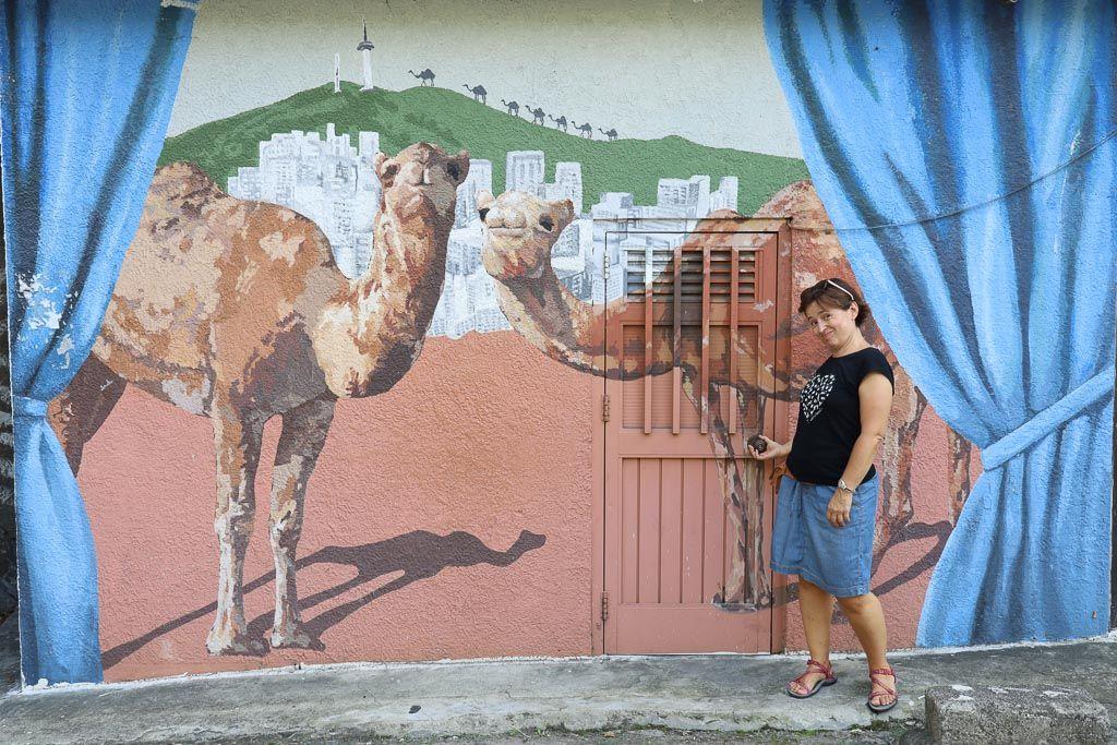 Grafitis del barrio Ihwa que hacer en Seul
