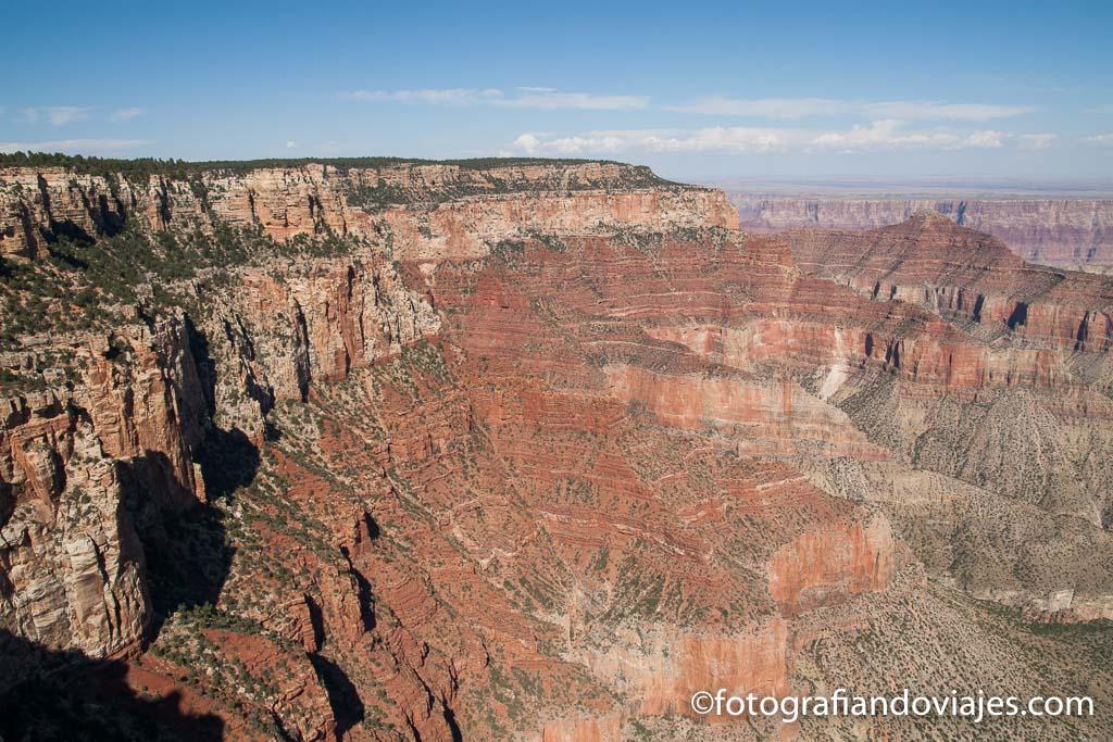 Grand Canyon del Colorado lado norte north rim Arizona