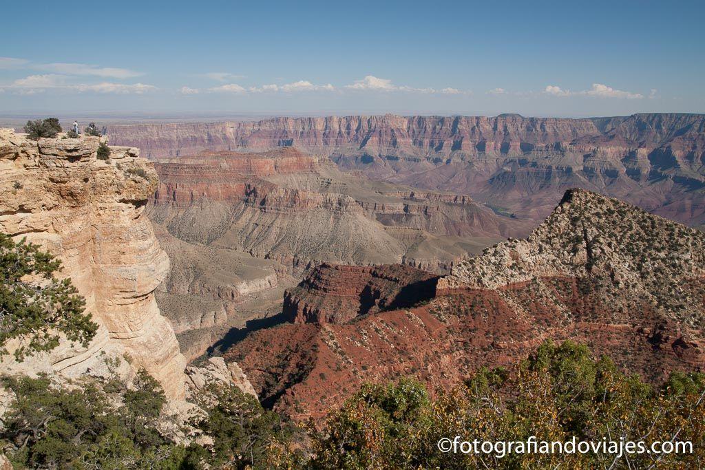 Grand Canyon del Colorado lado norte