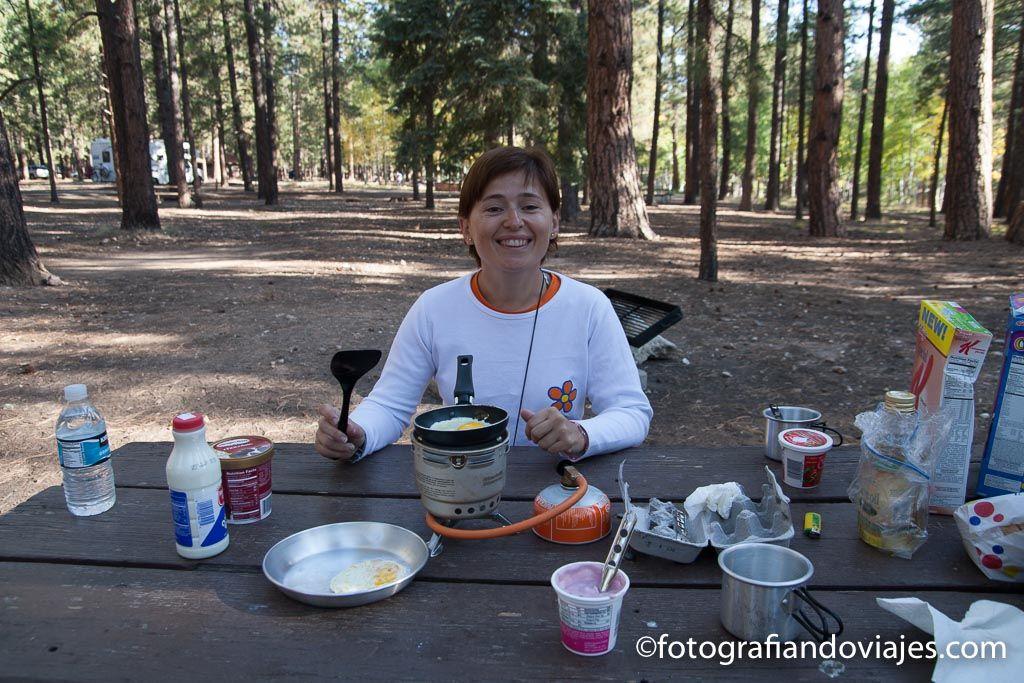 Camping canon del colorado Arizona estados unidos