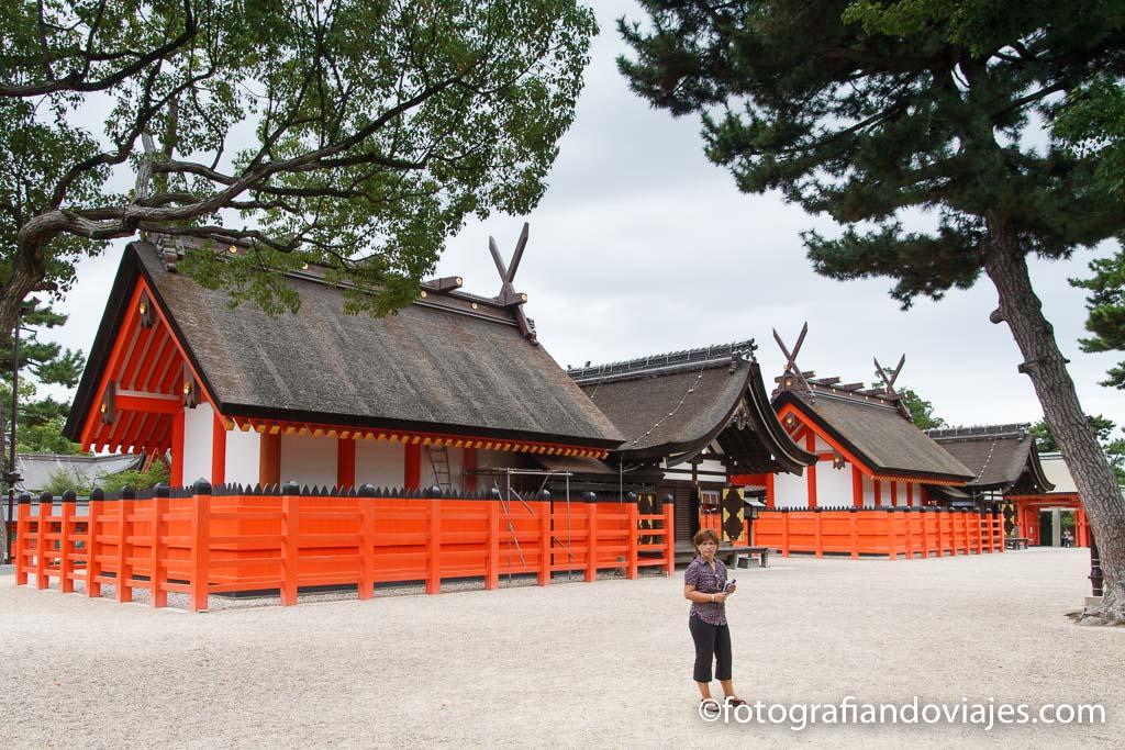 Santuario Sumiyoshi Taisha que ver en Osaka