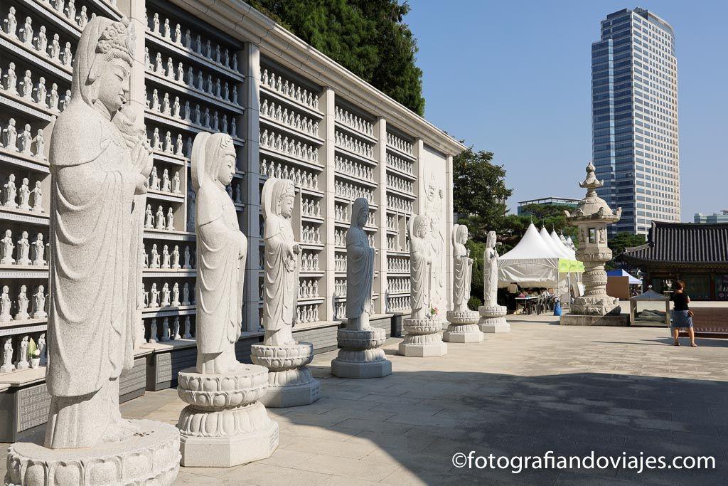 Templo Bongeunsa en Seu