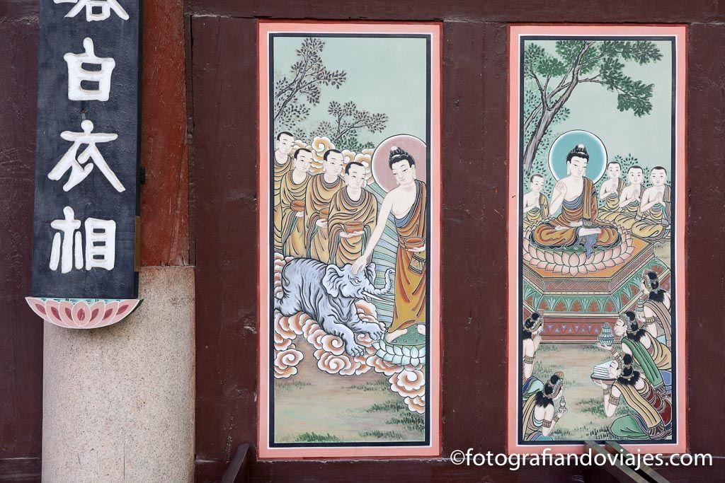 Templo Jogyesa en Seul