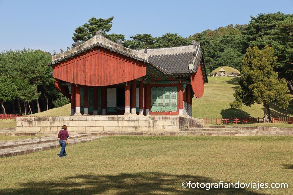 Tumba dinastia joseon Taereung