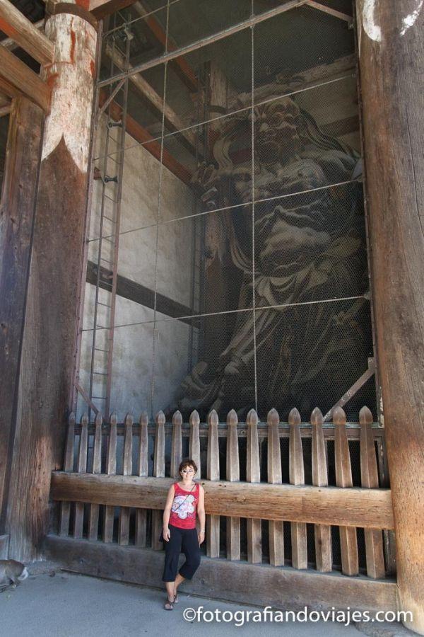 templo Todaiji puerta nandaimon