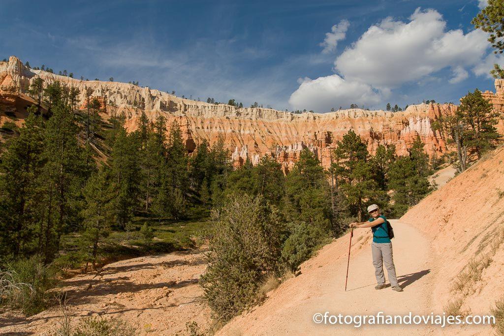 figure 8 trail, Navajo trail, Peekaboo y Queens garden