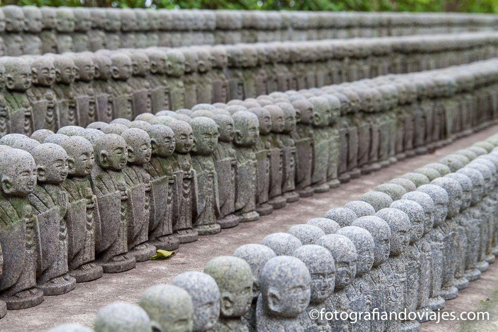 Templo Hasedera estatuas jizo