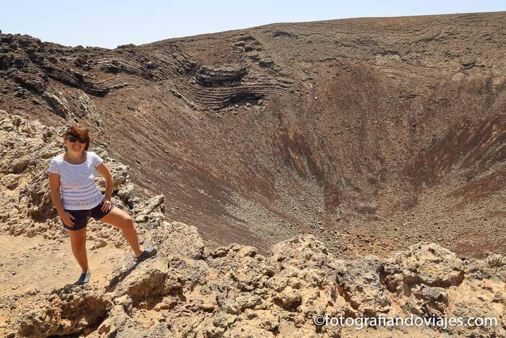 crater volcan calderon hondo fuerteventura