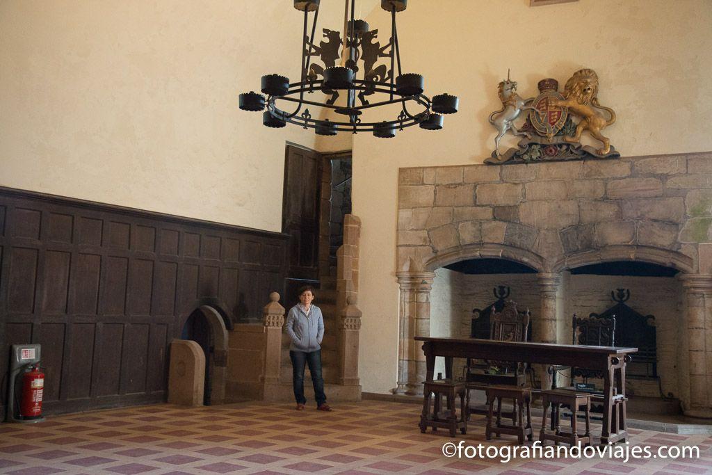 Salón castillo Doune