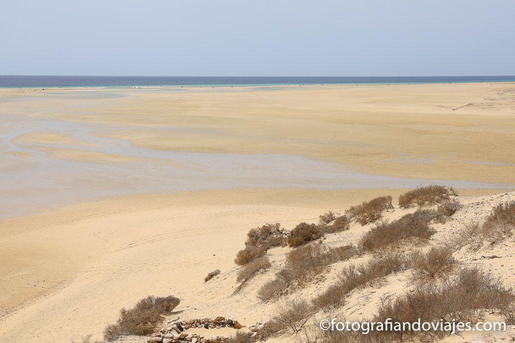 Playa Sotavento Jandia Fuerteventura