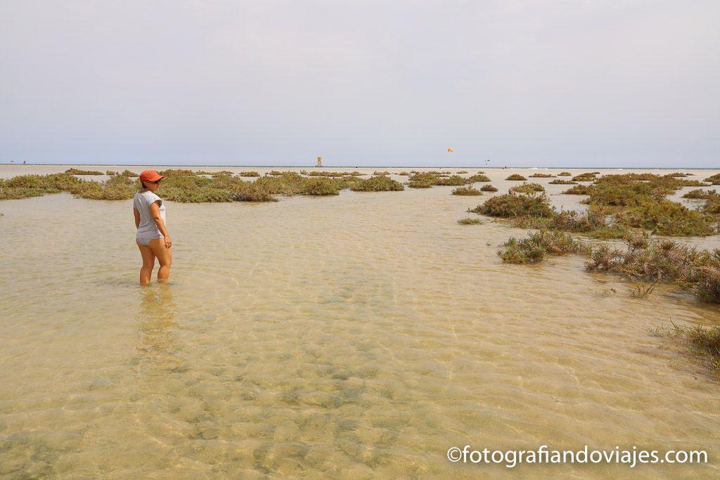 Laguna Sotavento Jandia Fuerteventura
