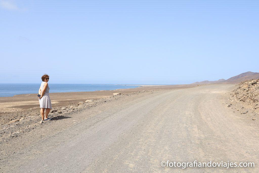 carretera peninsula de Jandía