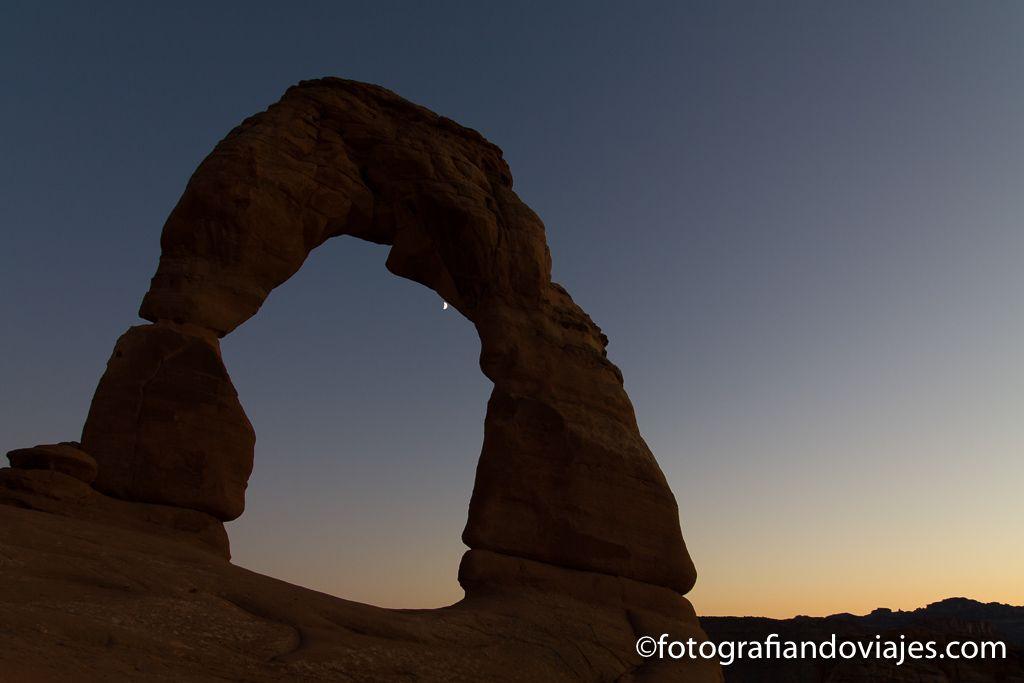 Arches parque nacional delicate arch