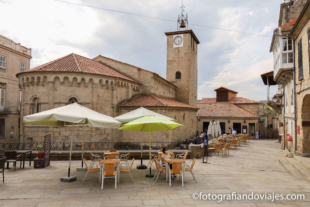 iglesia santiago apostol plaza mayor allariz