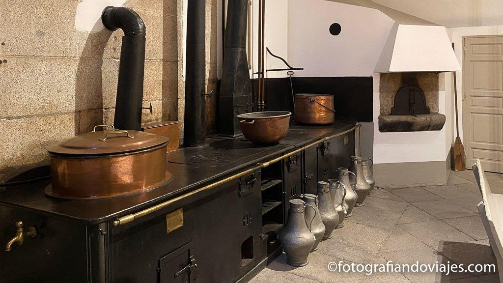 Cocina palacio real madrid