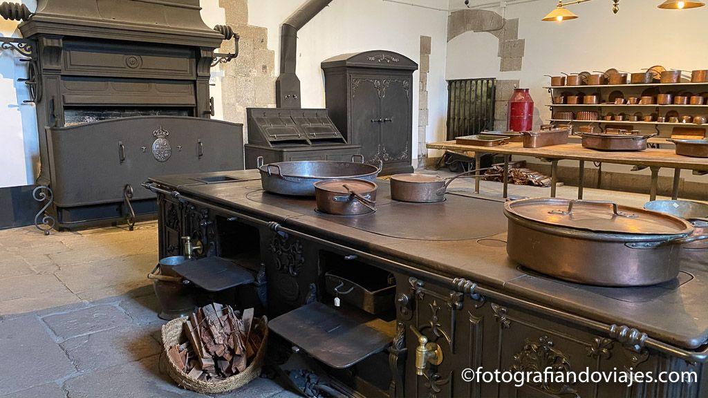 cocinas reales Palacio Real de Madrid