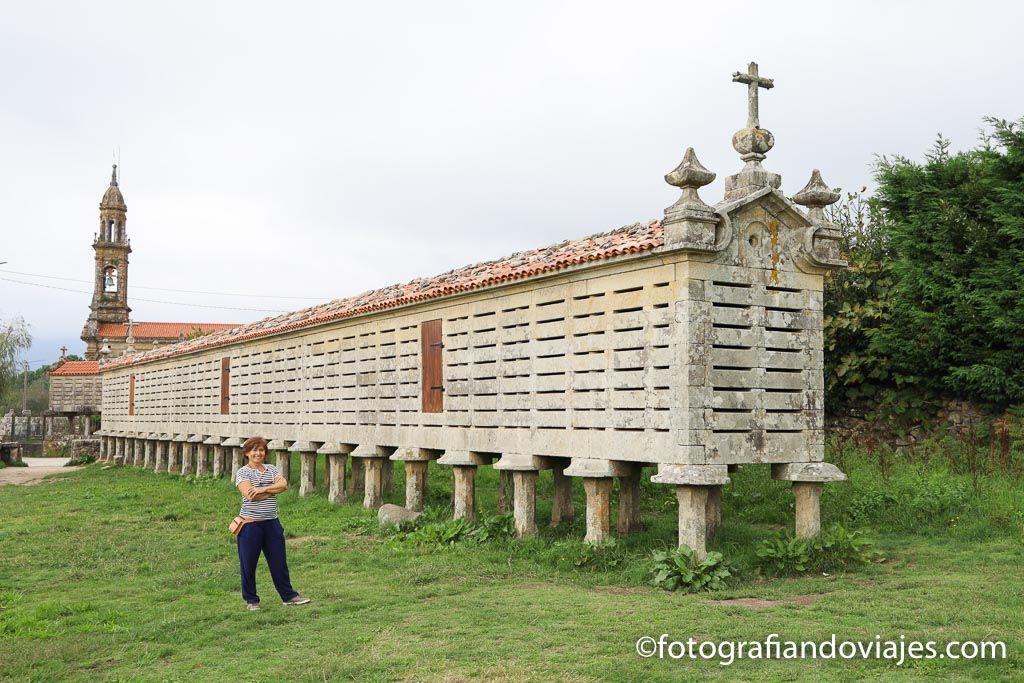 Carnota horreos de Galicia