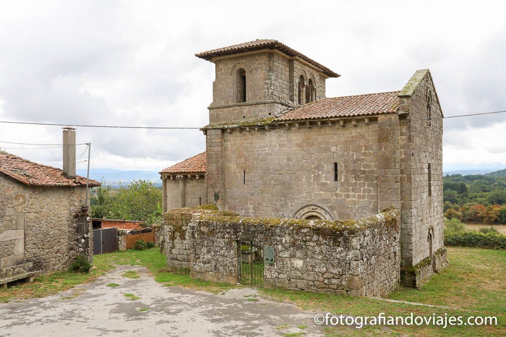 Iglesia San Miguel de Eire ribeira sacra