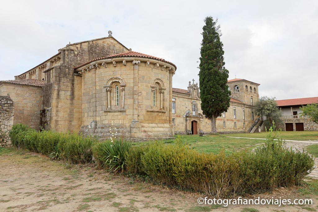 Monasterio San Salvador de Ferreira de Panton ribeira sacra
