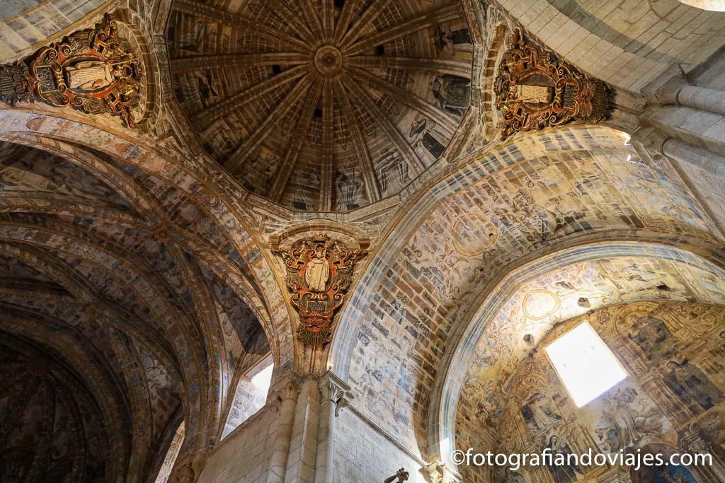 techos iglesia santa maria de osera