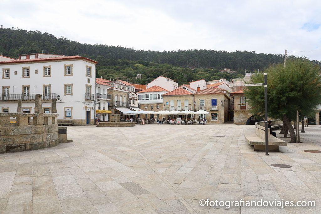 Plaza del Ayuntamiento o Curro da Praza de muros