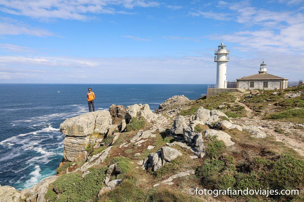 Faro Cabo Touriñan ver en costa da morte