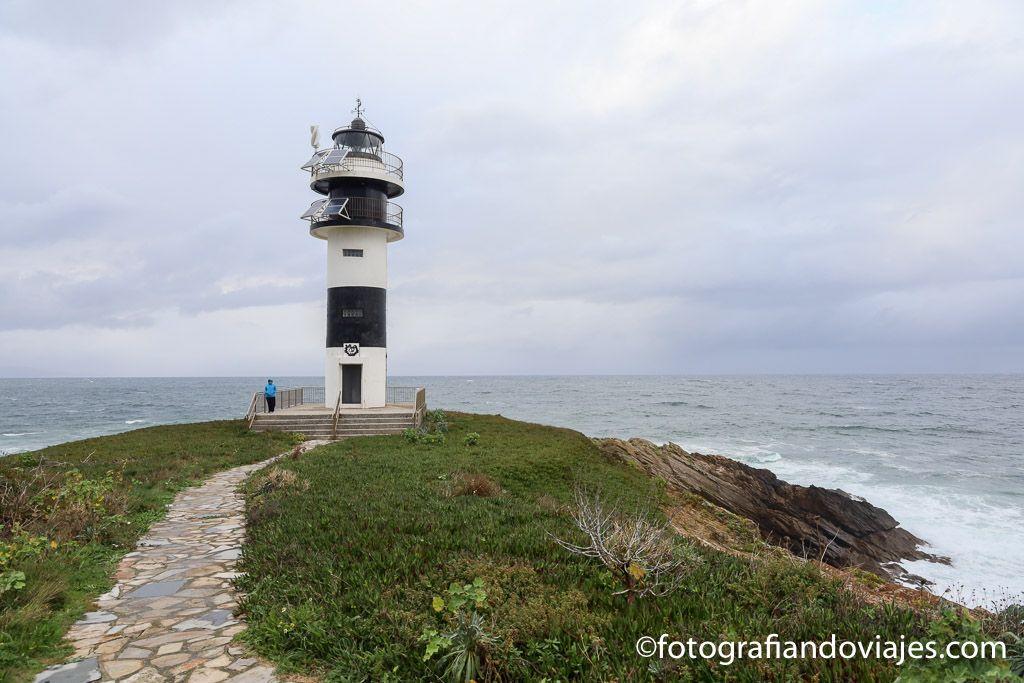 Faro Isla Pancha Ribadeo
