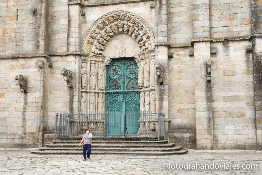 portada principal Iglesia San Martiño Noia