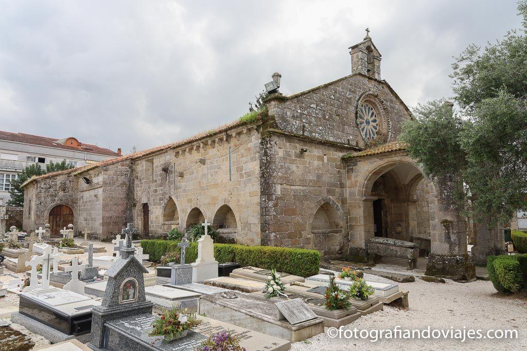 Iglesia Santa maria a nova noia museo lapidas gremiales noia