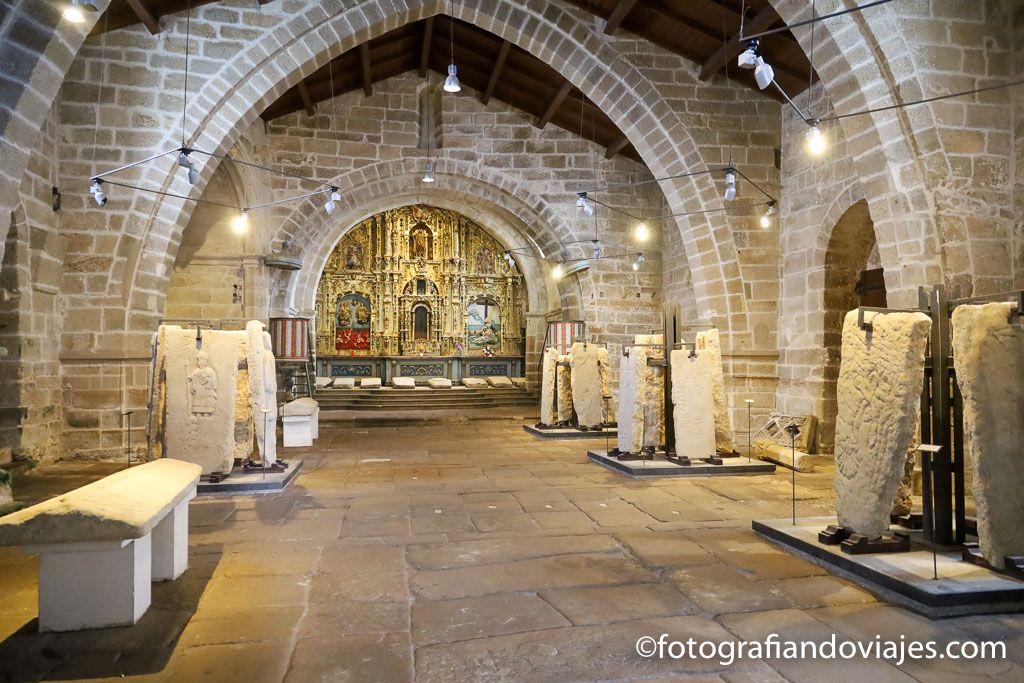 Iglesia Santa maria a nova noia museo lapidas gremiales