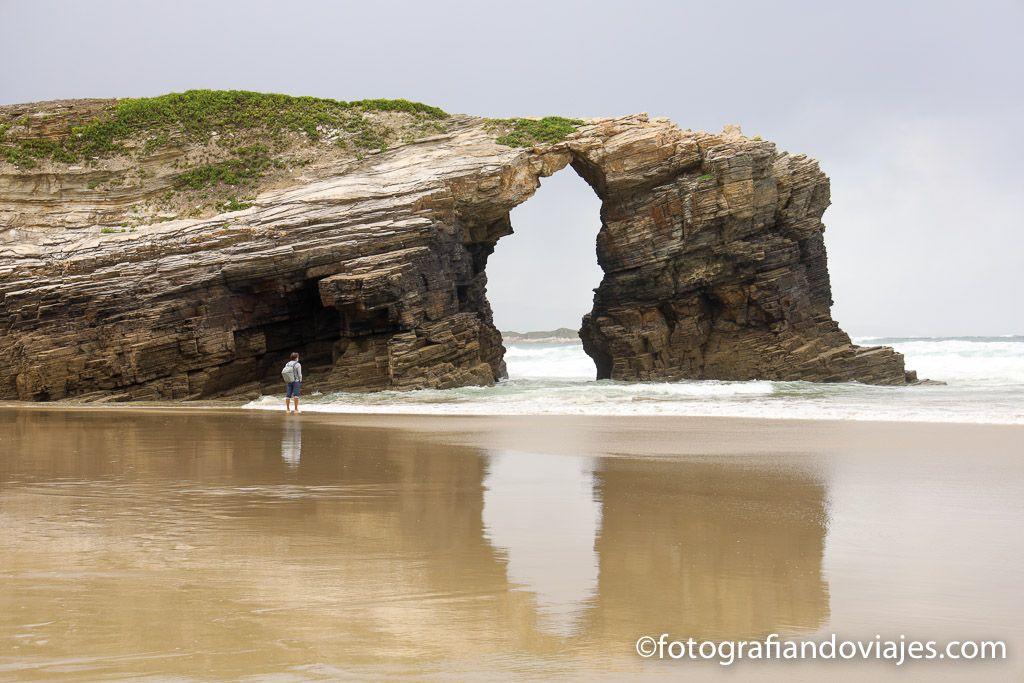 Playa de las catedrales ribadeo lugo galicia