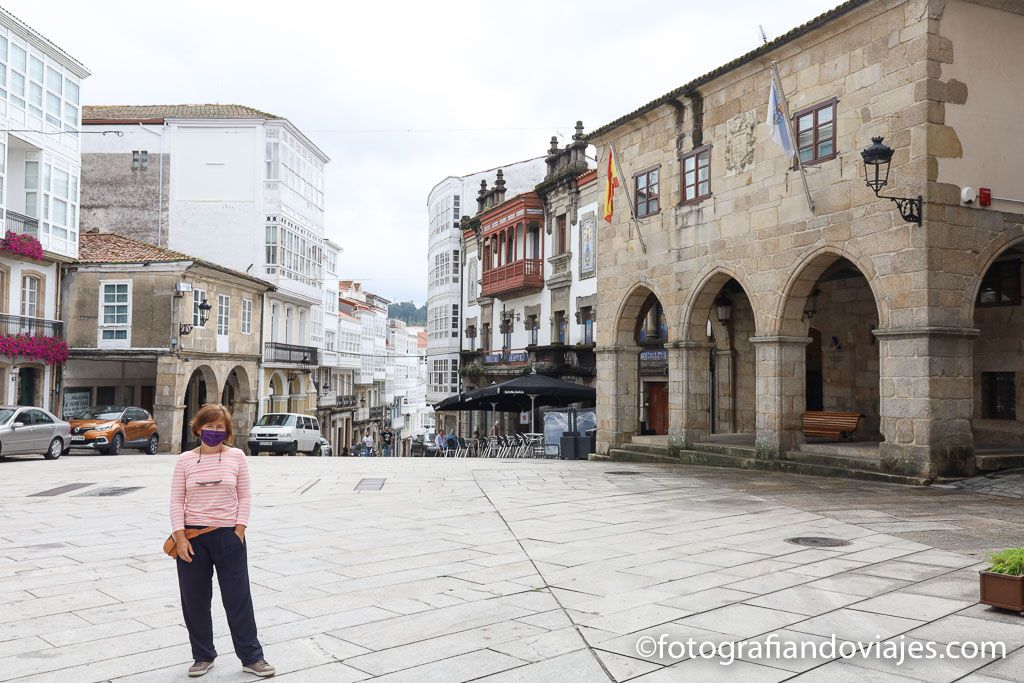 Plaza constitucion ayuntamiento Betanzos