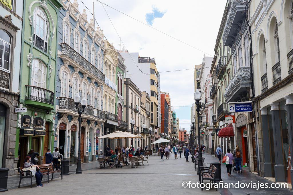 Calle Triana las palmas de gran canaria