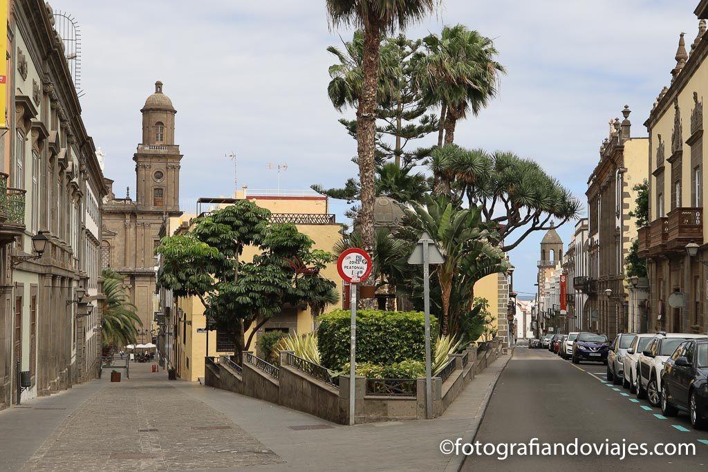 Calle chil y plaza espiritu santo las palmas de gran canaria